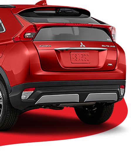 New Mitsubishi Eclipse Cross red